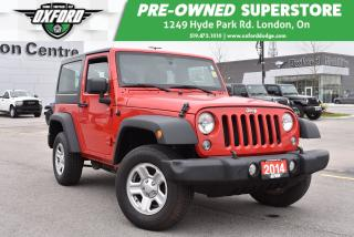 Used 2014 Jeep Wrangler Sport - Manual, New Tires for sale in London, ON