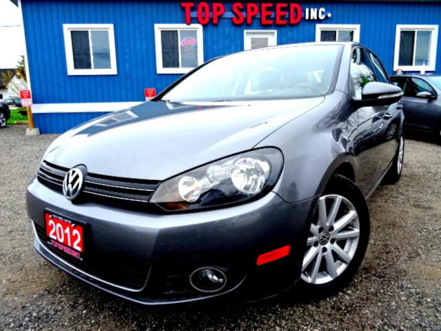2012 Volkswagen Golf Highline TDI DSG Leather Sunroof Bluetooth Certified 2012 Volkswagen Golf Highline TDI DSG Leather Sunroof Bluetooth Certified