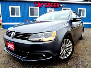 Used 2012 Volkswagen Jetta Highline TDI DSG Leather Sunroof Certified for sale in Guelph, ON
