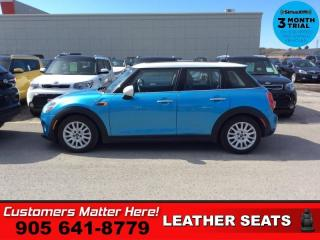 Used 2015 MINI Cooper Hardtop Base  LEATHER SUNROOF MANUAL for sale in St. Catharines, ON