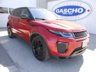 Used 2016 Land Rover Evoque HSE DYNAMIC | NAV | HUD | Park Assist for sale in Kitchener, ON