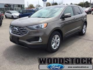 New 2019 Ford Edge SEL AWD  - Navigation - Sunroof for sale in Woodstock, ON
