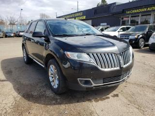 Used 2011 Lincoln MKX AWD-NAVI-PAN ROOF-ONE OWNER-LOW Monthly PAYMENTS!! for sale in Edmonton, AB