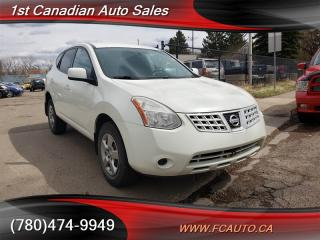 Used 2009 Nissan Rogue S-NO ACCIDENTS-LOW Monthly PAYMENTS!! for sale in Edmonton, AB