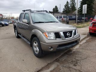 Used 2005 Nissan Frontier SE-CREW-4X4-LEATHER-SUNROOF-LOW Monthly PAYMENTS!! for sale in Edmonton, AB