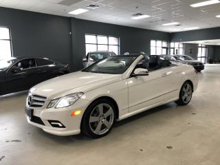 Used 2011 Mercedes-Benz E-Class E 350*CONVERTIBLE*NAVIGATION*BACK-UP CAMERA*HERMAN for sale in North York, ON