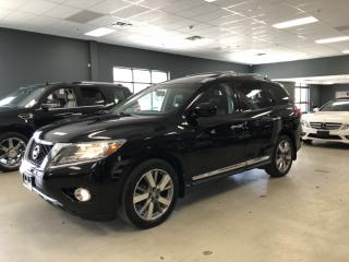 Used 2014 Nissan Pathfinder PLATINUM*360 CAMERA*NAVIGATION*7-PASSENGER*NO ACCI for sale in North York, ON