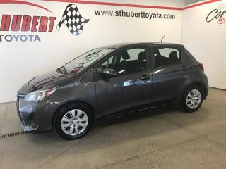 Used 2017 Toyota Yaris LE A/C for sale in St-Hubert, QC