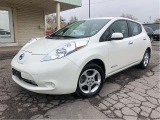 Used 2015 Nissan Leaf S Electric Vehicle Back Up Camera for sale in St Catharines, ON