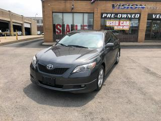 Used 2007 Toyota Camry SE V6/LEATHER/SUNROOF/JBL for sale in North York, ON