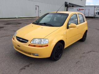 Used 2008 Chevrolet Aveo Familiale 5 portes LS for sale in Quebec, QC