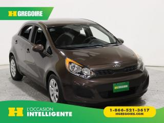 Used 2015 Kia Rio Lx+ A/c Gr Elect for sale in St-Léonard, QC