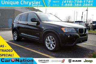 Used 2013 BMW X3 xDrive28i  AS-IS  PREMIUM PKG  for sale in Burlington, ON