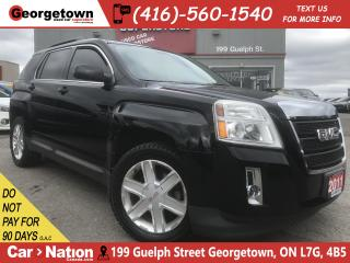 Used 2011 GMC Terrain SLT-1|V6|ALLOYS|ROOF|HTD SEATS|LTHR|B/UP CAM for sale in Georgetown, ON