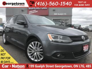 Used 2012 Volkswagen Jetta 2.0 TDI Highline | ROOF | LEATHER |ALLOY|HTD SEATS for sale in Georgetown, ON