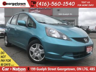 Used 2013 Honda Fit LX (A5)| POWER GROUP | A/C | AUX INPUT | CRUISE for sale in Georgetown, ON