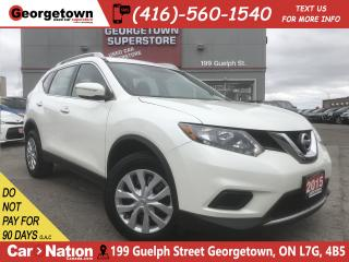 Used 2015 Nissan Rogue S | AWD | CVT | PWR OPTIONS | USB | AUX | A/C for sale in Georgetown, ON