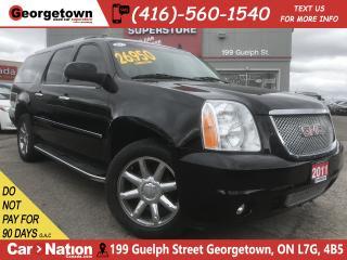 Used 2011 GMC Yukon XL Denali|NAV|B/UP|B/T|SENSORS|AWD| DVD for sale in Georgetown, ON
