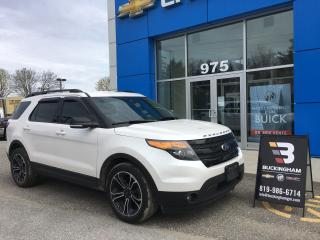 Used 2015 Ford Explorer SPORT for sale in Gatineau, QC