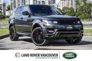 Used 2017 Land Rover Range Rover Sport V8 Supercharged Autobiography Dynamic *Certified! No Accidents! for sale in Vancouver, BC