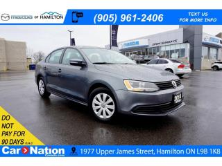 Used 2014 Volkswagen Jetta 2.0L COMFORTLINE | HEATED SEATS | AUX | CD PLAYER for sale in Hamilton, ON