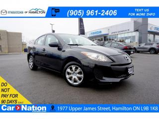 Used 2013 Mazda MAZDA3 GX | AUX | FWD | CD PLAYER for sale in Hamilton, ON