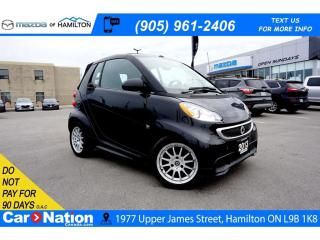 Used 2013 Smart fortwo PASSION | SUNROOF | CRUISE CONTROL | PADDLE SHIFT for sale in Hamilton, ON