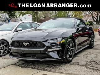 Used 2018 Ford Mustang ECO BOOST CONVERTIBLE for sale in Barrie, ON