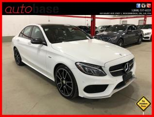 Used 2016 Mercedes-Benz C-Class C450 AMG 4MATIC PERFORMANCE SEATS STEERING CARBON for sale in Vaughan, ON