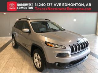 Used 2017 Jeep Cherokee High Altitude   4X4   Backup Cam   Heat Seats   Bl for sale in Edmonton, AB