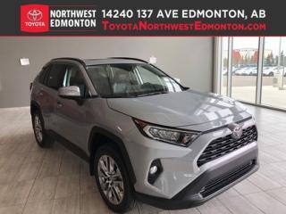 New 2019 Toyota RAV4 XLE Premium Package for sale in Edmonton, AB