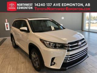 New 2019 Toyota Highlander LIMITED AWD for sale in Edmonton, AB