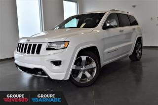 Used 2016 Jeep Grand Cherokee OVERLAND + ECODIESEL + SUSP. PNEUMATIQUE for sale in St-Jean-Sur-Richelieu, QC