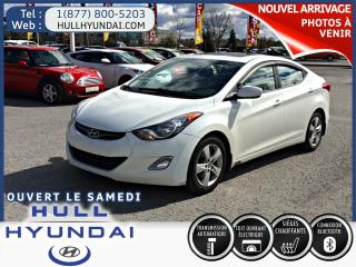 Used 2013 Hyundai Elantra Gls, T.ouvrant for sale in Gatineau, QC