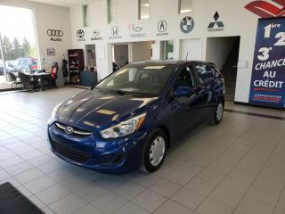Used 2015 Hyundai Accent GL / Voiture à hayon, 5 portes / AC/ CRU for sale in Sherbrooke, QC