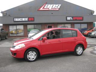 Used 2010 Nissan Versa ***AIR CLIMATISÉ*** for sale in Ste-Catherine, QC