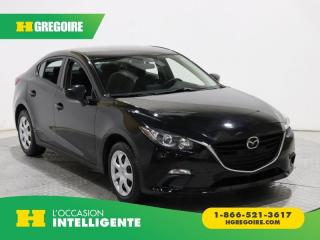 Used 2016 Mazda MAZDA3 GX A/C GR ÉLECT for sale in St-Léonard, QC