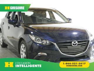 Used 2015 Mazda MAZDA3 Gx A/c Bluetooth for sale in St-Léonard, QC