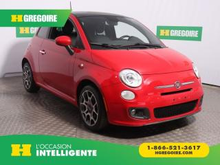 Used 2013 Fiat 500 SPORT AC GR ELEC for sale in St-Léonard, QC