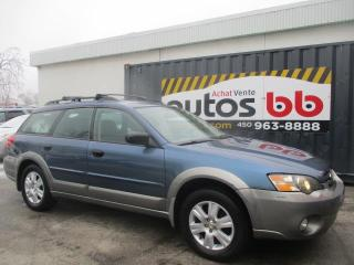 Used 2005 Subaru Outback 5dr Wgn Outback 2.5i for sale in Laval, QC
