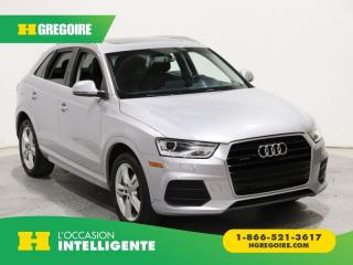 Used 2016 Audi Q3 Progressiv Quattro for sale in St-Léonard, QC