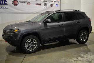 Used 2019 Jeep Cherokee Trail Hawk 4x4 Bluetooth+caméra+bas KM for sale in Sherbrooke, QC