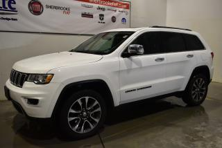 Used 2018 Jeep Grand Cherokee Limited+toit+Navigation+Bluetooth+ for sale in Sherbrooke, QC