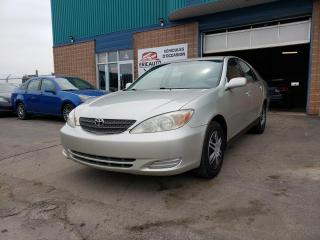 Used 2002 Toyota Camry for sale in St-Eustache, QC