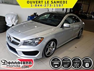 Used 2015 Mercedes-Benz CLA250 4MATIC AMG, TOIT PANO, GPS* for sale in Donnacona, QC