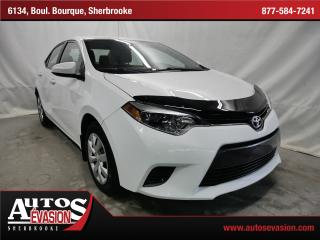 Used 2015 Toyota Corolla Le + Caméra De Recul for sale in Sherbrooke, QC