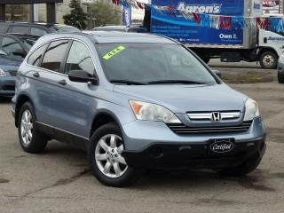 Used 2007 Honda CR-V 4X4, NO-ACCIDENTS, SUNROOF, ALLOYS, LOADED,LOW KMS for sale in Mississauga, ON
