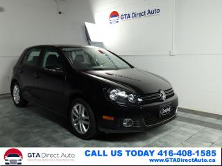 Used 2011 Volkswagen Golf TDI Comfortline Auto Alloys Bluetooth Certified for sale in Toronto, ON