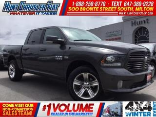 Used 2017 RAM 1500 SPORT | CREW | 4X4 | CAM | BUCKETS!!! for sale in Milton, ON