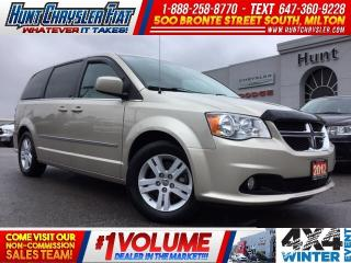 Used 2012 Dodge Grand Caravan CREW | STOW N GO | PWR ST | 7 PASS!!! for sale in Milton, ON
